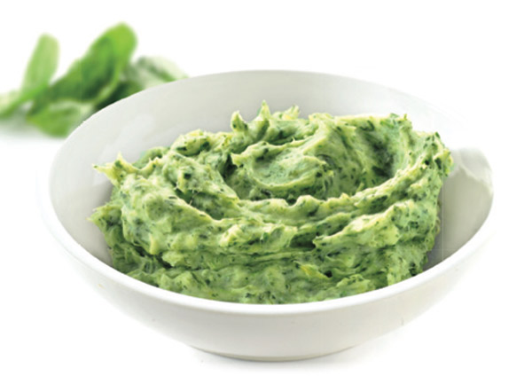 Lutosa Mashed Potatoes with Spinach - Idaho Frank
